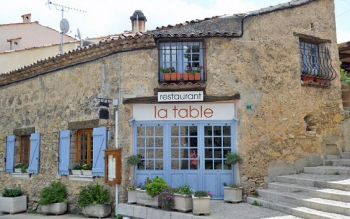 Tips in de regio aups salernes tourtour villecroze - La table tourtour ...
